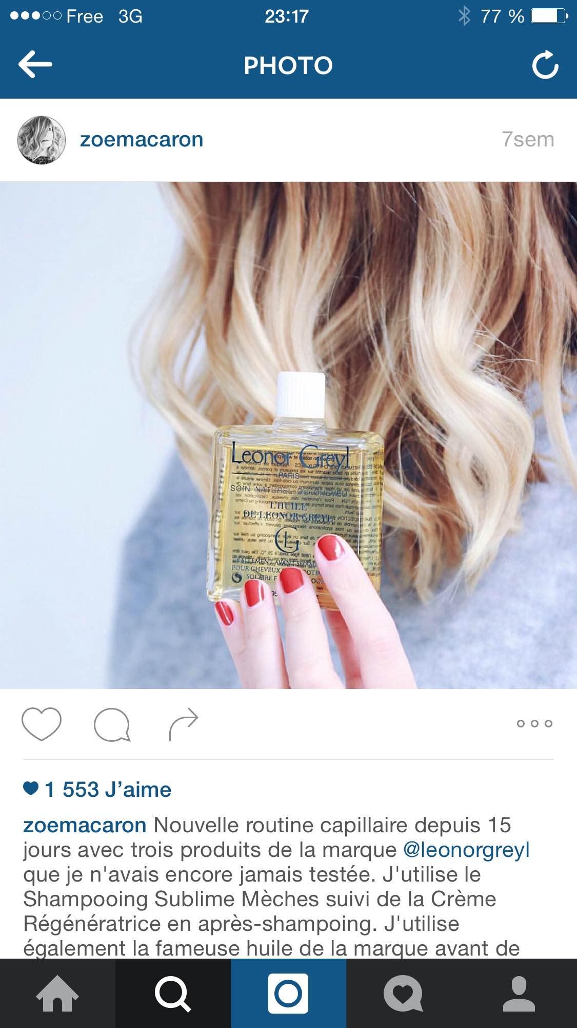 Liiinks publicité sur instagram